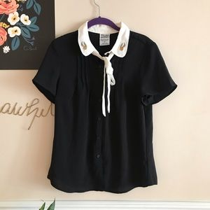 BOX LUNCH HARRY POTTER PETER PAN COLLAR BLOUSE